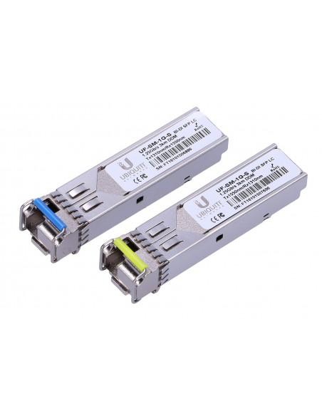 UBIQUITI UF-SM-1G-S SFP MODULE SINGLE-MODE 1,25GBPS 3KM BIDI 2 PACK