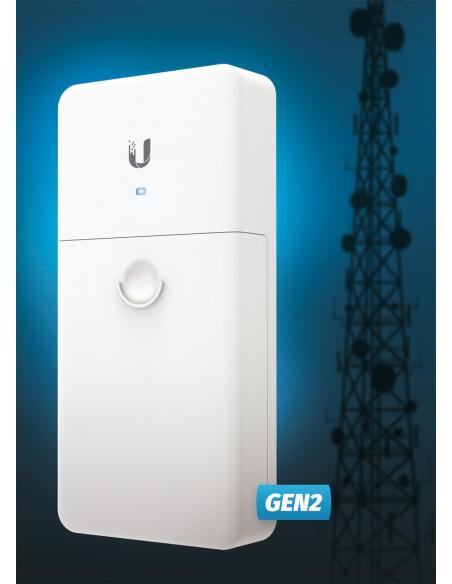 UBIQUITI F-POE-G2 MEDIA CONVERTER WITH POE FIBER POE GEN.2