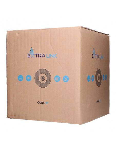 1F 1KM EXTRALINK ROUND DROP CABLE 1J (1KM) BROWN BOX G.657B2 DIAMETER 3,0MM