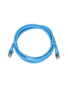 EXTRALINK LAN PATCHCORD CAT.6A S/FTP 2M 10G SHIELDED FOILED TWISTED PAIR BARE COPPER