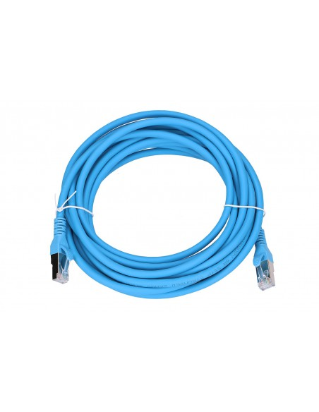 EXTRALINK LAN PATCHCORD CAT.6A S/FTP 5M 10G SHIELDED FOILED TWISTED PAIR BARE COPPER