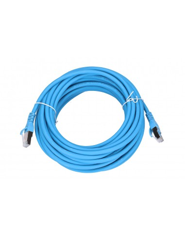 EXTRALINK LAN PATCHCORD CAT.6A S/FTP 10M 10G SHIELDED FOILED TWISTED PAIR BARE COPPER