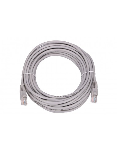 EXTRALINK LAN PATCHCORD CAT.5E UTP 10M TWISTED PAIR BARE COPPER