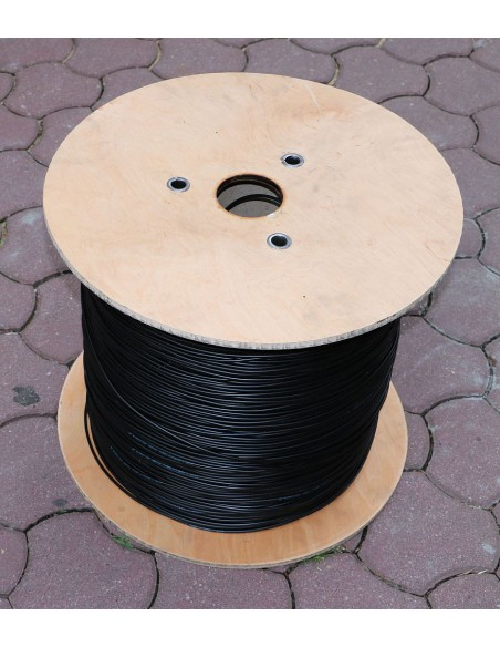 8F EXTRALINK AERIAL FIBER OPTIC CABLE 8J SM G652 D DIAMETER 5,2MM 0,5KN WITH FRP FUJIKURA FIBERS INSIDE