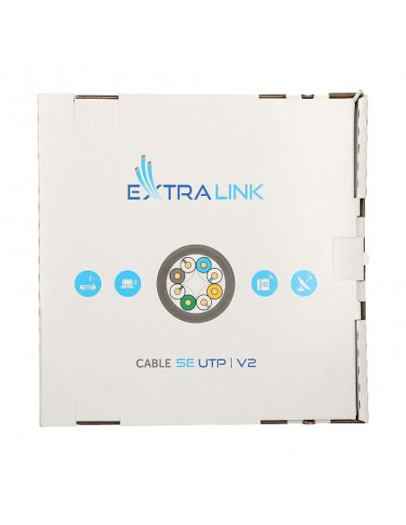 EXTRALINK CAT5E UTP (U/UTP) V2 INDOOR TWISTED PAIR 305M