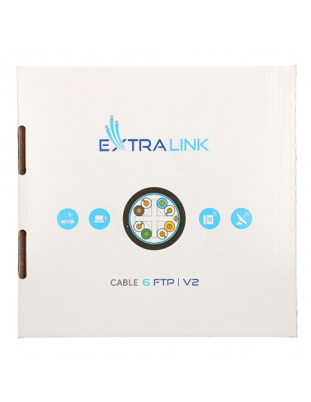 EXTRALINK CAT6 FTP (F/UTP) V2 OUTDOOR TWISTED PAIR 305M
