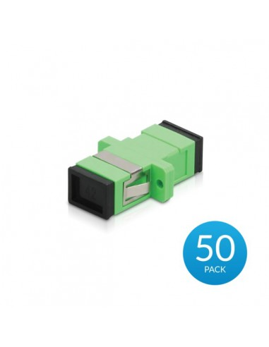 UBIQUITI UF-ADAPTER-APC-50 ADAPTER SC/APC SM SIMPLEX GREEN 50-PACK