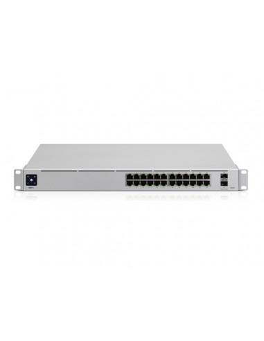 UBIQUITI USW-PRO-24-EU UNIFI SWITCH GEN2 24X GIGABIT, 2x SFP+ 10GB PORTS, RPS DC INPUT, LAYER 3