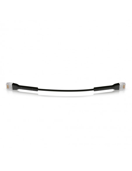 UBIQUITI U-CABLE-PATCH-RJ45-BK 100 UNIFI PATCH CABLE WITH BENDABLE BOOTED RJ45, 0.1M, BLACK
